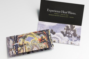 Heatwaves Exhibition Collateral