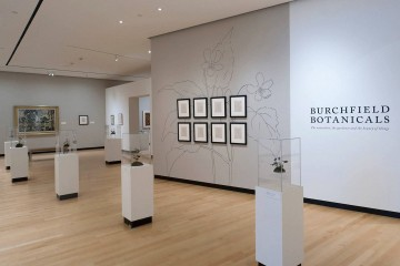 Burchfield Botanicals Exhibition Support & Publication